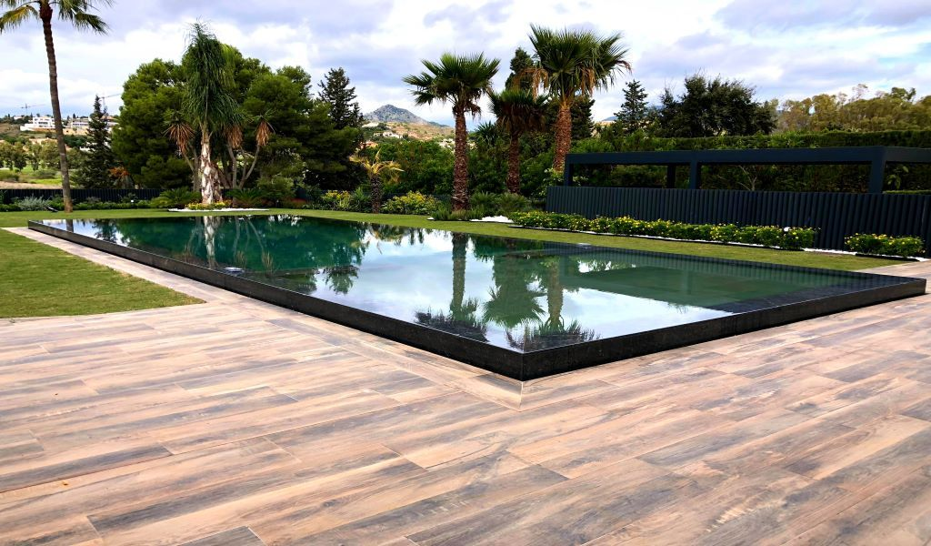 natural stone for pools