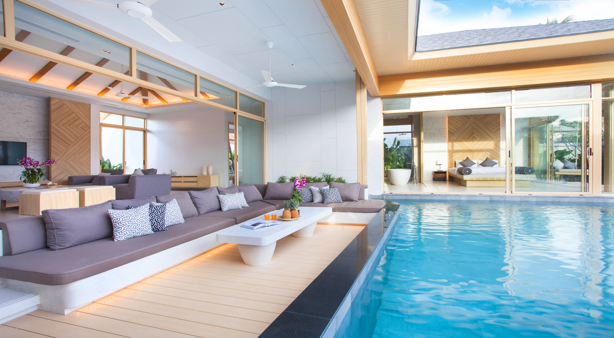 The swimming pool as an element of home revaluation